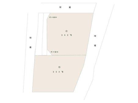 下里見町(安中駅) 490万円~590万円 土地価格490万円、土地面積253㎡
