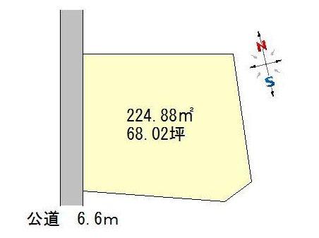 見和3(赤塚駅) 850万円 土地価格850万円、土地面積224.88㎡