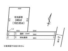 額田南郷(額田駅) 310万円 土地価格310万円、土地面積464㎡