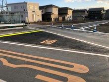 新町(新町駅) 782万円~812万円 分譲地の進入路も入りやすくしました。