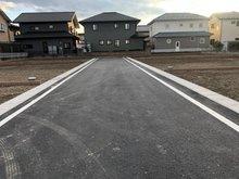 新町(新町駅) 782万円~812万円 新設道路です。