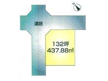 桜町(南高田駅) 1188万円 土地価格1188万円、土地面積437.88㎡