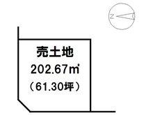 上郷黒田(伊那上郷駅) 722万円 土地価格722万円、土地面積202.67㎡