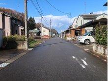 火釜町 471万円 道路南東側から北西方向
