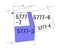 土地価格250万円、土地面積171.53㎡