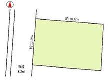 寺町3(高田駅) 730万円 土地価格730万円、土地面積219.09㎡地形