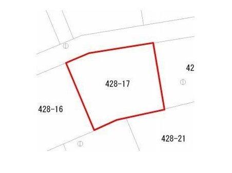 星の宮町(中条駅) 250万円 土地価格250万円、土地面積335.54㎡間取図