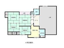 清里区青柳 60万円 60万円、5DK、土地面積499.17㎡、建物面積137.35㎡