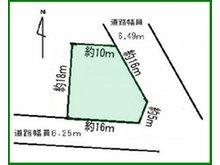 西城町4(高田駅) 1445万円 土地価格1445万円、土地面積280.98㎡