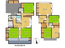 北城町1(高田駅) 1850万円 1850万円、7LDK+S(納戸)、土地面積298.28㎡、建物面積210.94㎡7SLDK♪ 車庫や物干しスペース、収納スペース等に恵まれたゆとりの間取です♪