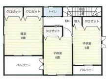 大貫1(南高田駅) 530万円 建物プラン 2階(15.25坪)