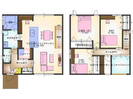 東本町3(高田駅) 2850万円 家事動線を考えた家になっております