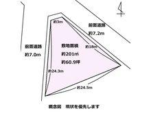 大字下五貫野(黒井駅) 200万円 土地価格200万円、土地面積201㎡