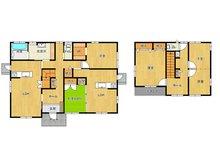 ◆東城2丁目 平成26年築 2世帯仕様5SLLDKオール電化住宅◆ソーラパネル搭載♪ 3300万円、5LLDDKK+S(納戸)、土地面積236.94㎡、建物面積145.25㎡
