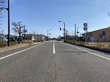 みずき野2(越後赤塚駅) 1563万3000円 北東側前面道路です。