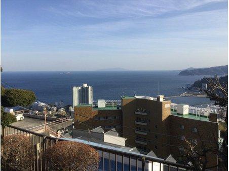 伊豆山 3000万円 現地からの眺望