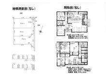 瀬名1(草薙駅) 3880万円 3880万円、2DDKK、土地面積135㎡、建物面積123.93㎡1階・2階間取り図