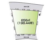 熱海 2500万円 土地価格2500万円、土地面積656㎡