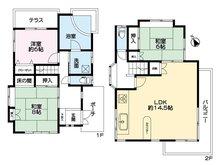 赤沢 1450万円 1450万円、3LDK、土地面積809㎡、建物面積93.56㎡