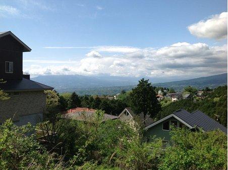 現地からの眺望(2012年6月)撮影