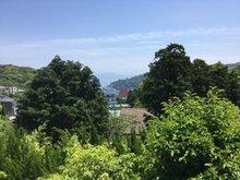 奈古谷エメラルドタウン 1980万円 現地からの眺望