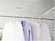 【浴室換気暖房乾燥機】換気・暖房・乾燥・涼風の1台4役。洗濯物の室内乾燥、入浴前の暖房など、幅広く活躍します。