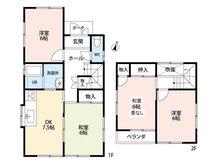新茶屋4(戸田駅) 950万円 950万円、4DK、土地面積102.46㎡、建物面積72.94㎡