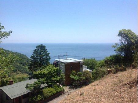 伊豆山 550万円 現地からの眺望