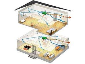 【ハシモトハウス】 北区東味鋺2丁目(2区画)~開放的なオープンキッチンのある家~ 【一戸建て】 冷暖房・空調設備