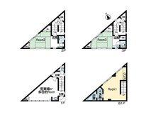 和田浜南町(熱海駅) 1600万円 1600万円、3K、土地面積27.3㎡、建物面積98.14㎡