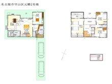 (元郷2丁目2号地)、価格4215万3000円、4LDK、土地面積133.21㎡、建物面積120.82㎡