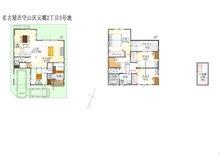 (元郷2丁目3号地)、価格4551万4000円、4LDK、土地面積110.64㎡、建物面積122.28㎡