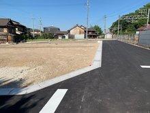 エコタウン朝倉 運転しやすく、駐車もしやすい道路幅! 見通しも良いです。