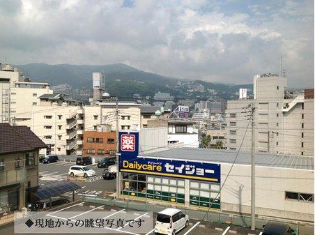 和田町(熱海駅) 2300万円 現地からの眺望