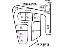 伊豆山 1980万円 区画図