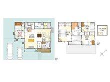 (9号地)、価格3431万7000円、4LDK、土地面積165.07㎡、建物面積119.42㎡