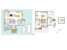 (7号地)、価格2999万円、4LDK、土地面積165.17㎡、建物面積120.61㎡