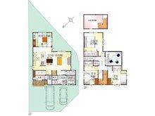 (4号地)、価格3283万6000円、4LDK、土地面積148.53㎡、建物面積113.04㎡