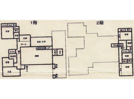 舞阪町弁天島(弁天島駅) 4980万円 4980万円、4LDK、土地面積730㎡、建物面積212㎡間取り図