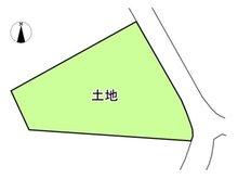 米野木町南山(黒笹駅) 3680万円 土地価格3680万円、土地面積1,141.52㎡区画図については、公図に基づくもので現況を優先とします。