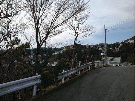 現地からの眺望(2012年12月)撮影