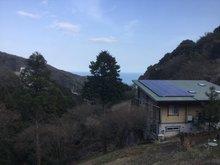 伊豆山 1600万円 現地からの眺望