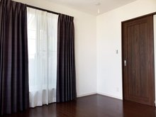 9号地 主寝室<br />プロが選んだ大塚家具のカーテンをプレゼント!Wキャンペーン実施中です。