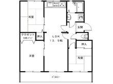 名谷8団地41号棟 3LDK、価格1590万円、専有面積62.07㎡、バルコニー面積9.96㎡全面リノベーション済みです。