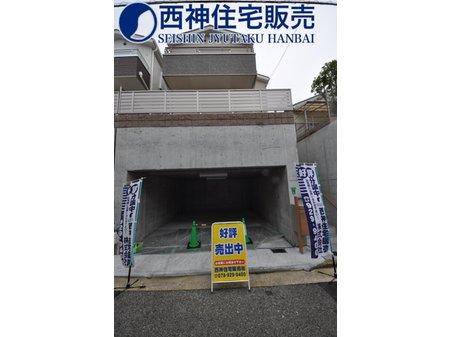 西舞子8(朝霧駅) 4380万円 JR「朝霧」駅より徒歩約15分の立地です。西舞子小学校・舞子中学校のエリアです。現地(2020年7月27日)撮影
