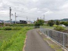 【事業用物件】大井町並河1(並河駅) 700万円 物件までの道路です
