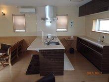 鴨川平3(近江高島駅) 100万円 建物プラン例(2号地)対面キッチン