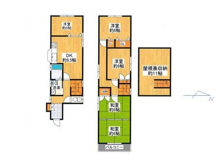 枚方元町(枚方公園駅) 1480万円 現地(1BOXカー)1台停められます