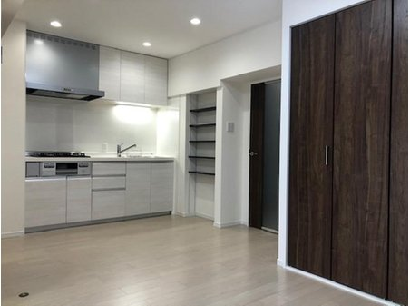 鐘紡夙川台マンション 室内(2020年6月)撮影 キッチン新調しています。
