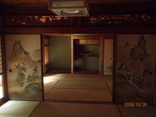 薪山垣外(京田辺駅) 1990万円 室内(2020年10月)撮影:本格和風建築。1階に和室の続き間:あり